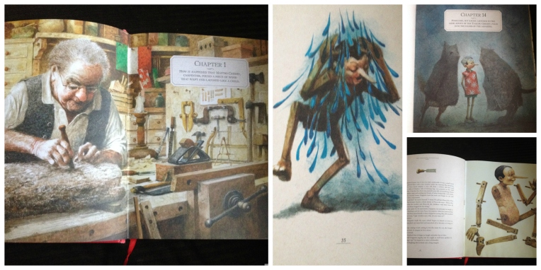 Pinocchio Collage